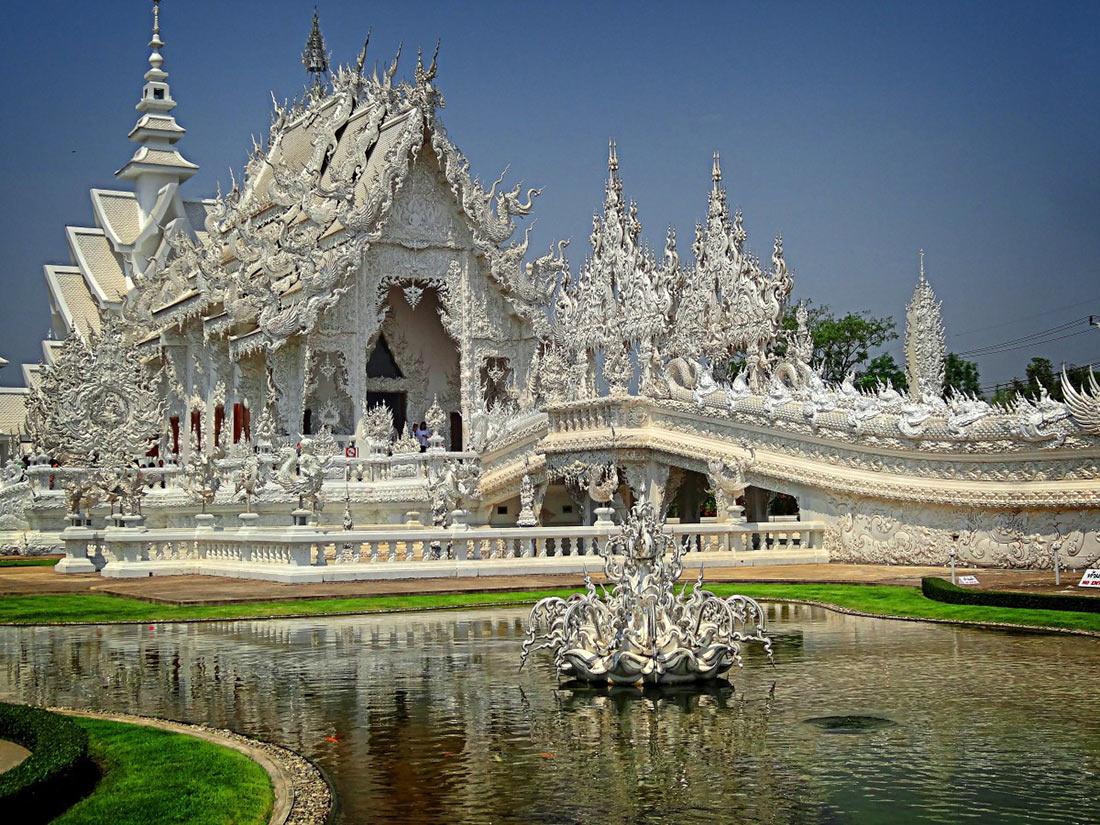 Білий храм Ват Ронг Кхун