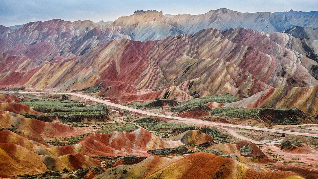 Національний геопарк Чжан'є Данься