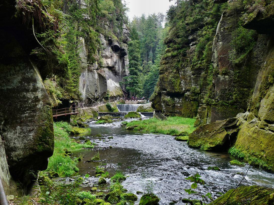 Національний парк Чеська Швейцарія