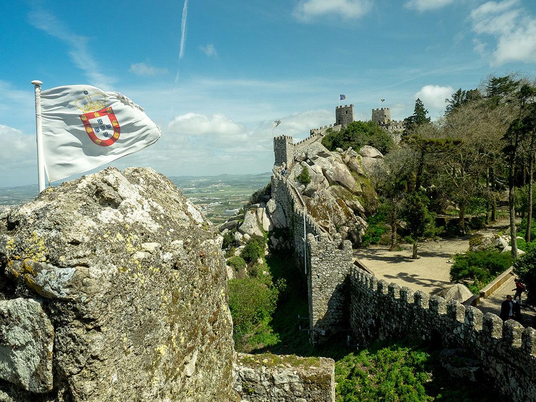 замок маврів