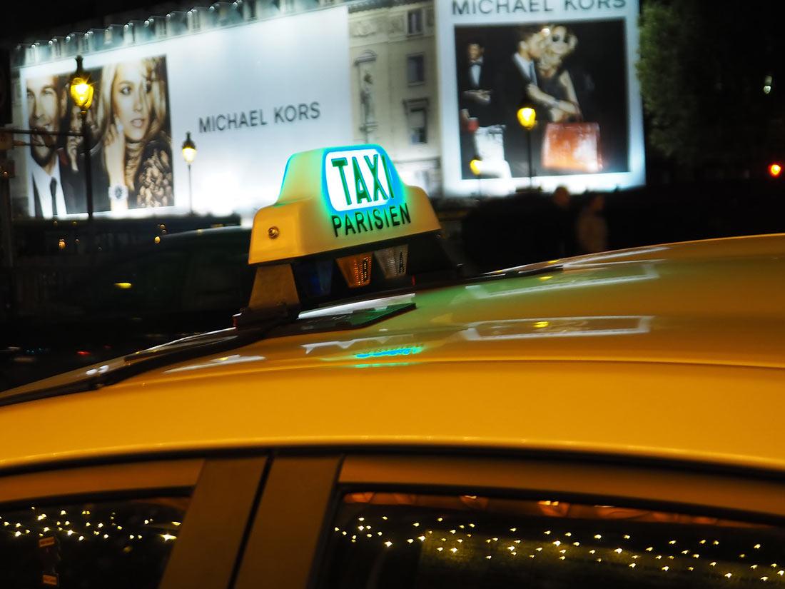 таксі у Парижі