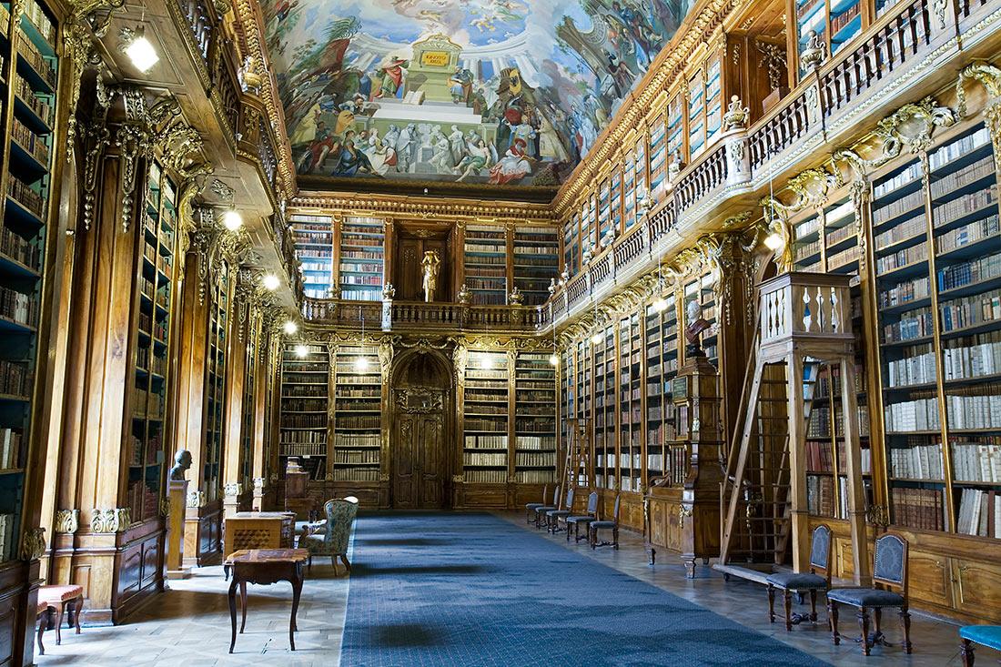 Бібліотека Страговського монастиря