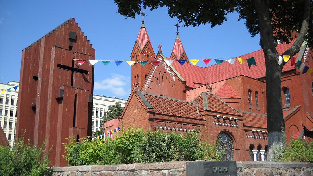 Костел святих Симона та Олени в Мінську