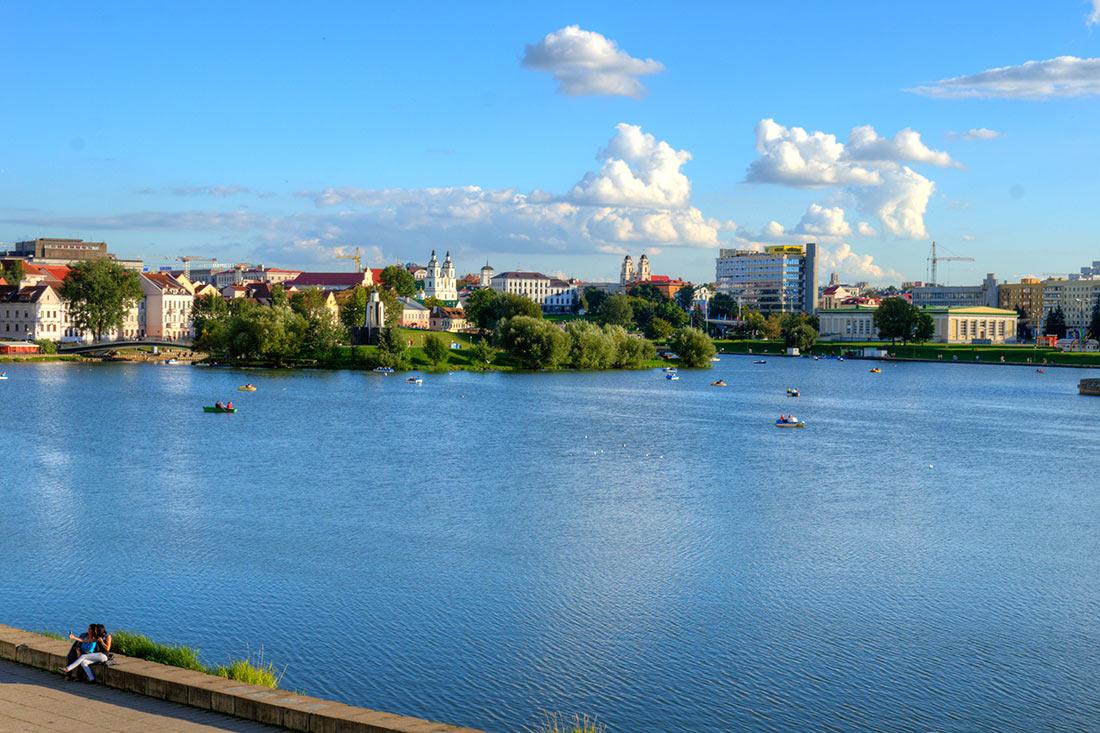 Верхнє місто в Мінську