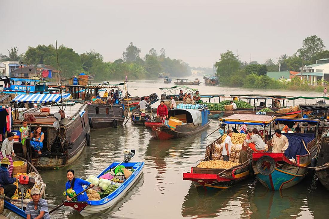 Дельта річки Меконг