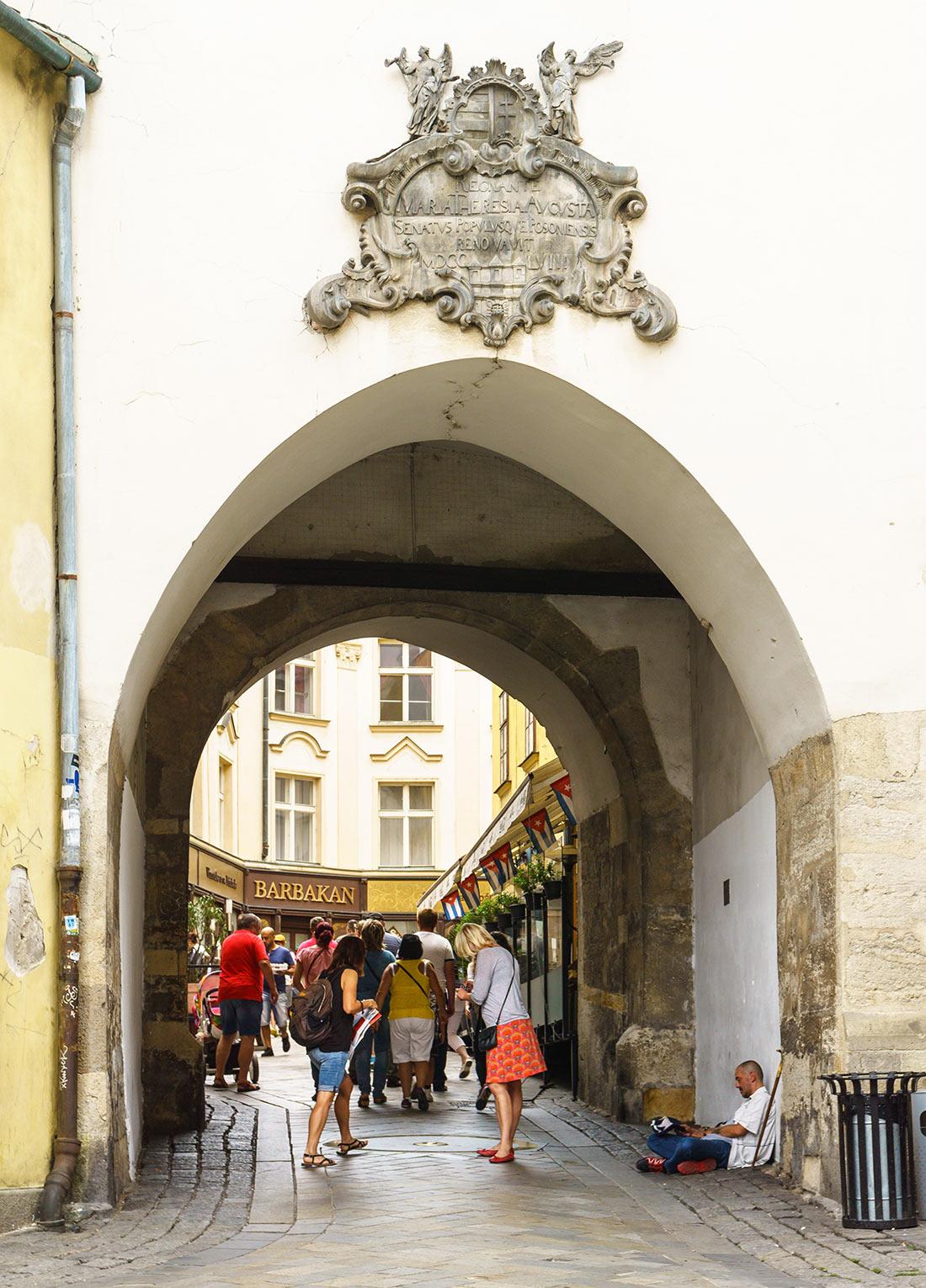 Михайлівська брама в Братиславе