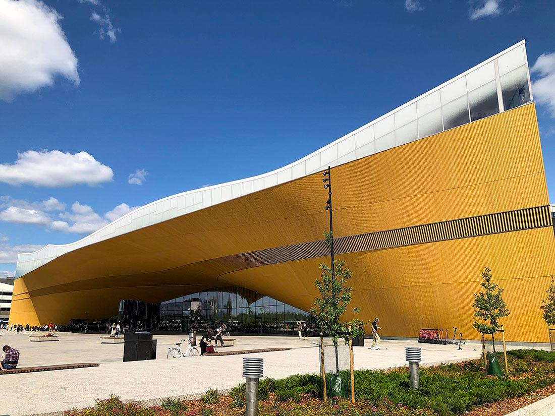 Центральна бібліотека Гельсінкі «Ооді»